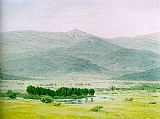 Unknown Artist Friedrich Landscape in the Riesengebirge painting